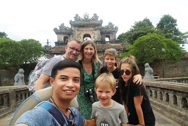 Hue Imperial City Walking Tour- Hoi An Private Car