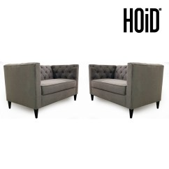 Length Of 2 Seater Sofa Linen With Nailheads Ovi Hoid