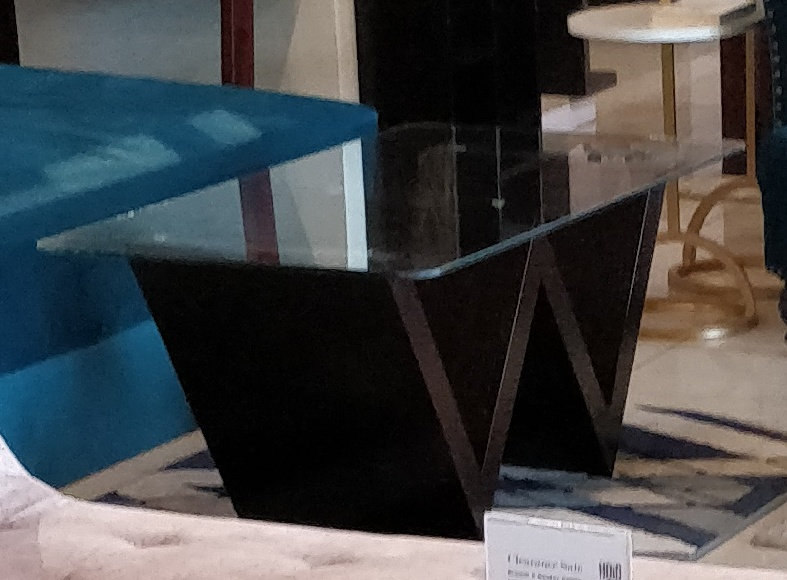 wo centre table with glass top
