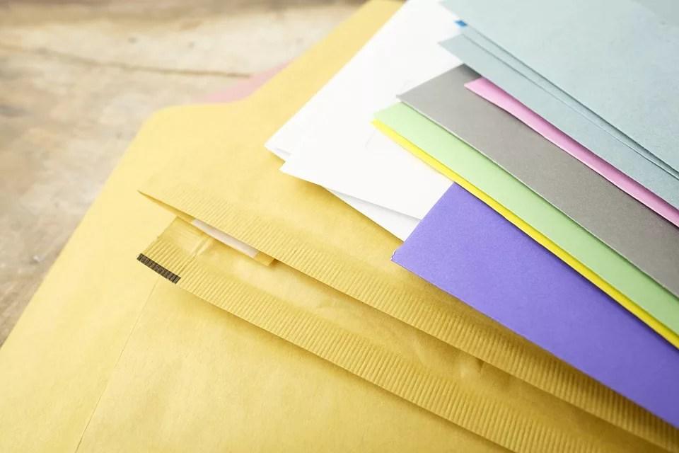 お礼状の便せんと封筒