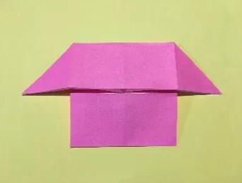 折り紙のメダルの作り方6