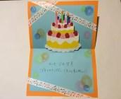 保育士の誕生日カード9