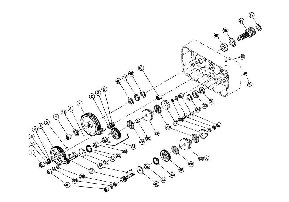 Gearing and Load Brake Parts