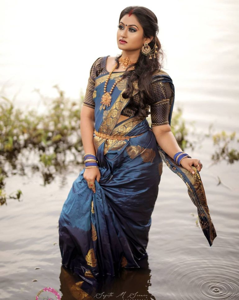 Swathy Nithyanand Bio, Wiki, Age, Husband, Serial, and Beautiful Photos 121