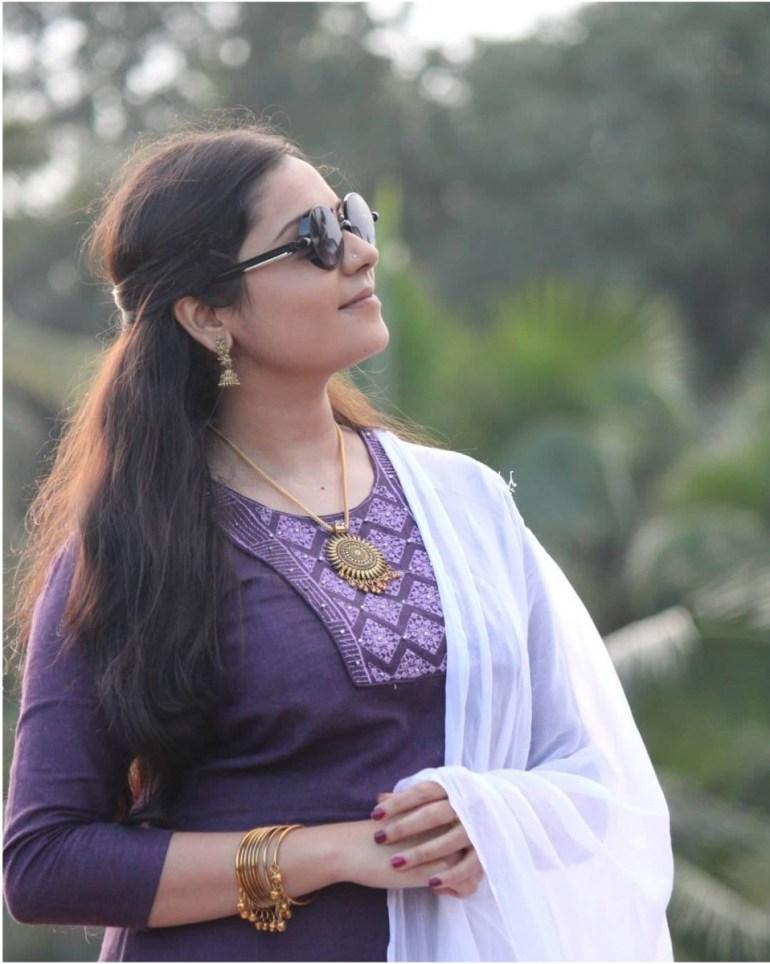 Raakkuyil serial actress Archana Nair Wiki, Age, Bio, Serials, Husband, Height, Photos 108