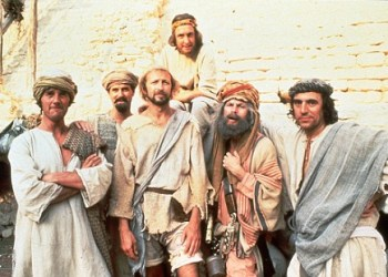QUALITY: 2ND GENERATION-- MONTY PYTHON -- Life of Brian--Friday 10th Sept @ 22.00 We've gone Paramonty. Every Friday @ 22.00 in September The Paramount Comedy Channel will beshowing classic Monty Python, including the Holy Grail, The Life Of Brian, The Monty Python Reunion Special and Live at the Hollywood Bowl. FOR MORE INFORMATION PLEASE CALL THE PARAMOUNT PRESS OFFICE ON: 0171 399 7707 AND 7706.