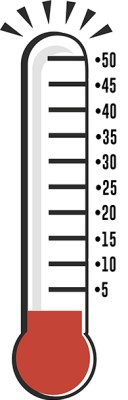 temperatura frio termómetros