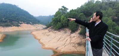 Tiago Wong, aqui no reservatório em Coloane