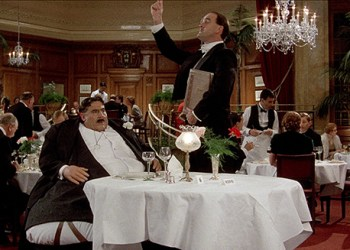 Mr. Creosote (Terry Jones) Maitre D? (John Cleese)