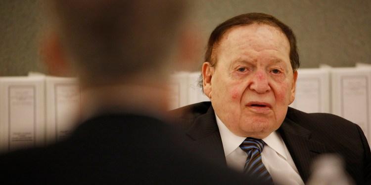 Sheldon Adelson, CEO da Las Vegas Sands Corp.