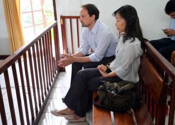 Tiago e Fong Fong Guerra. Foto: Agência Lusa
