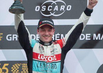 O britanico Peter Hickman foi o grande vencedor na 65ª edição do Grande prémio de Macau está nas ruas de Macau, e teve lugar hoje a primeira manga da corrida para a taça do Mundo de carros de Turismo da FIA, Macau, 17 de Novembro de 2018. CARMO CORREIA/LUSA