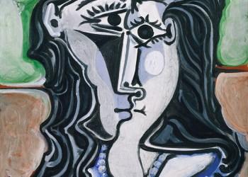 """""""Cabeça de Mulher"""" Pablo Picasso"""