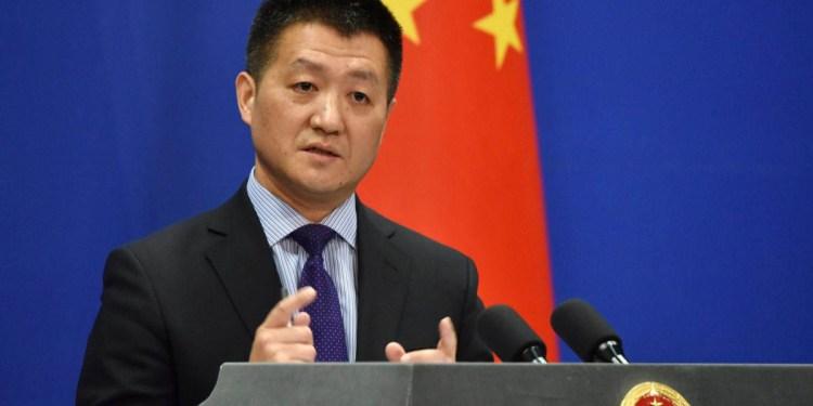 Lu Kang, porta-voz do Ministério dos Negócios Estrangeiros chinês