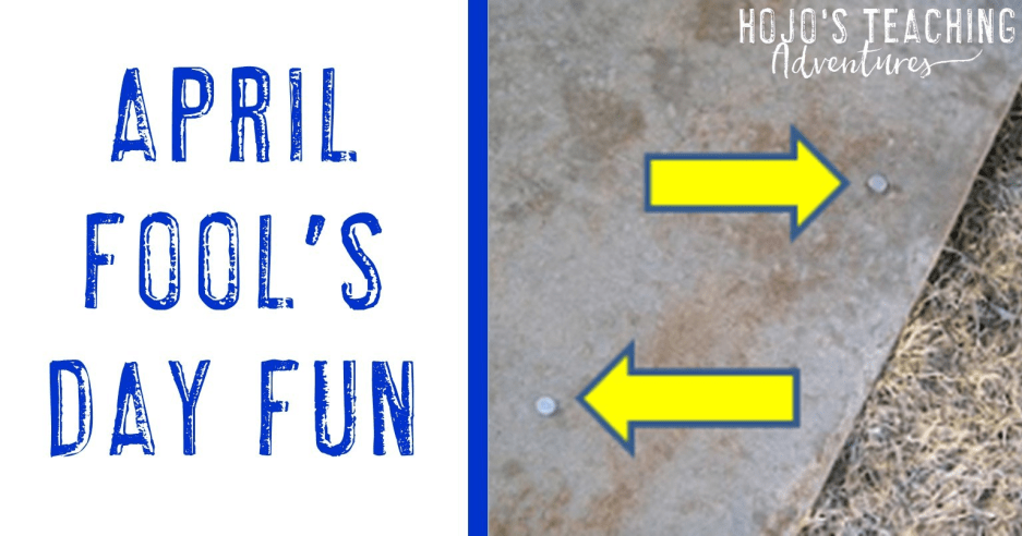 PHEW! April Fool's Day falls on Sunday this year!!