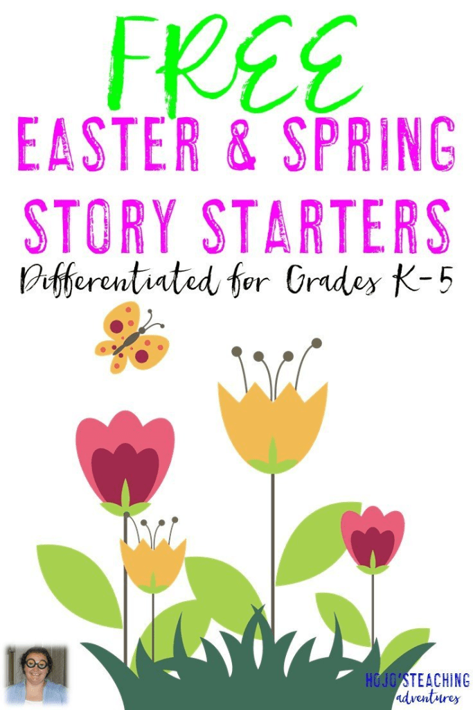 Looking for Easter or Spring story starters for your elementary classroom? These FREE Writing Prompts are differentiated to work for Kindergarten, 1st, 2nd, 3rd, 4th, or 5th grade students. Grab yours today!
