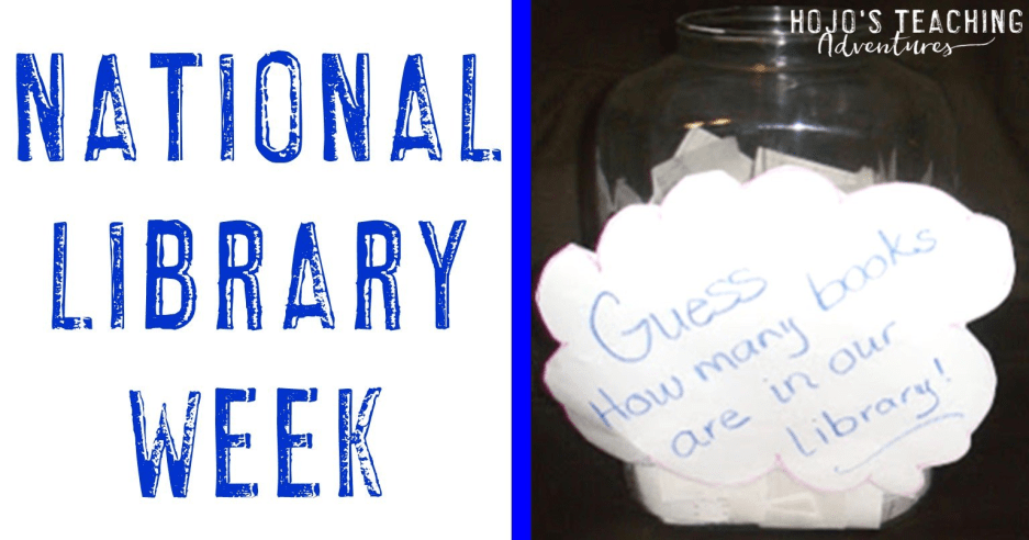 Happy National Library Week! (A little late) And one other thing…