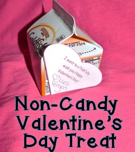 A Candy FREE Valentine's Day Treat!