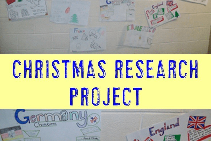 Common Core Christmas Research Project