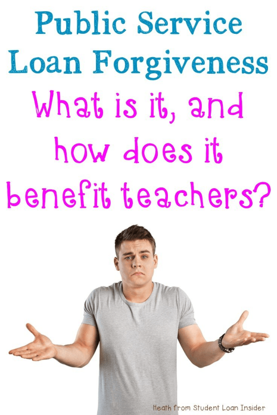 Are you a teacher drowning in student loan debt? Then you need to find out about Public Service Loan Forgiveness (PSLF) and how it can help you pay off your student loan debt more quickly! Click through to learn more, and sign up for the free guide with even more great information!