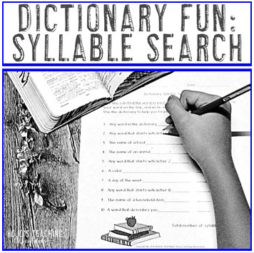 Click to check out how this resource encourages dictionary skills in a fun, hands-on manner! Great for your 2nd, 3rd, 4th, or 5th grade students!