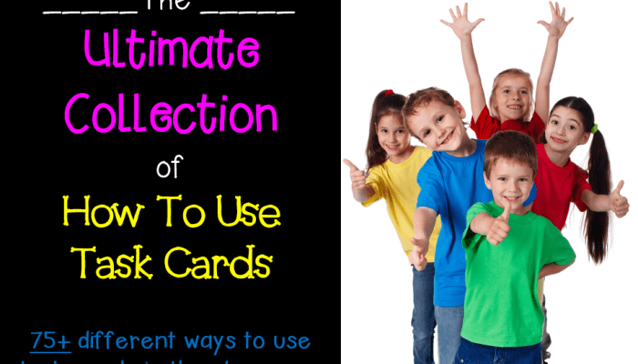 Ultimate Collection of How To Use Task Cards