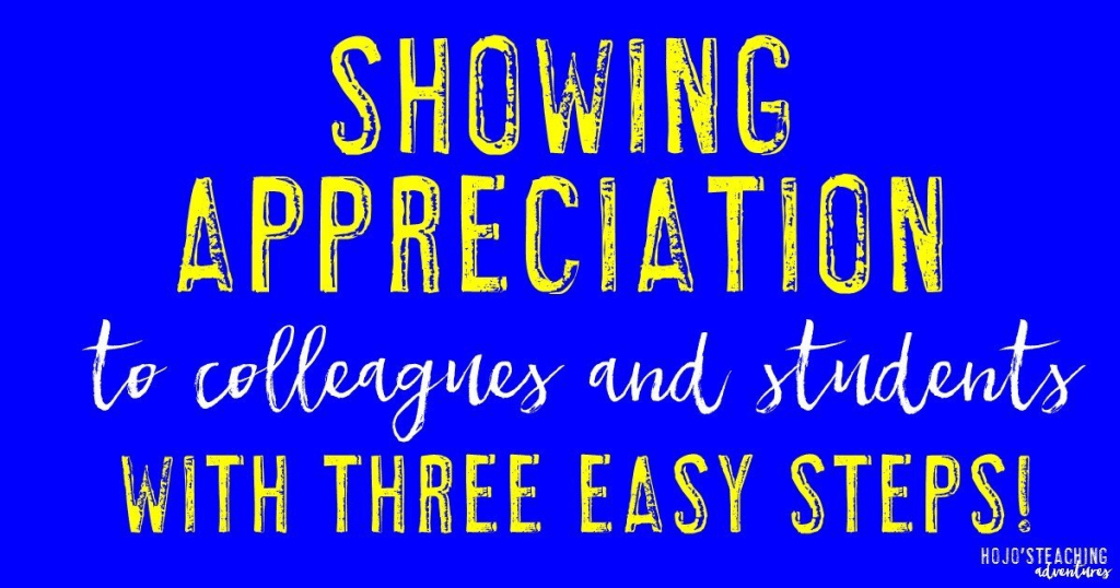 Showing appreciation for colleagues and students should not be hard! With these three easy steps you'll be able to tell others thank you in no time!