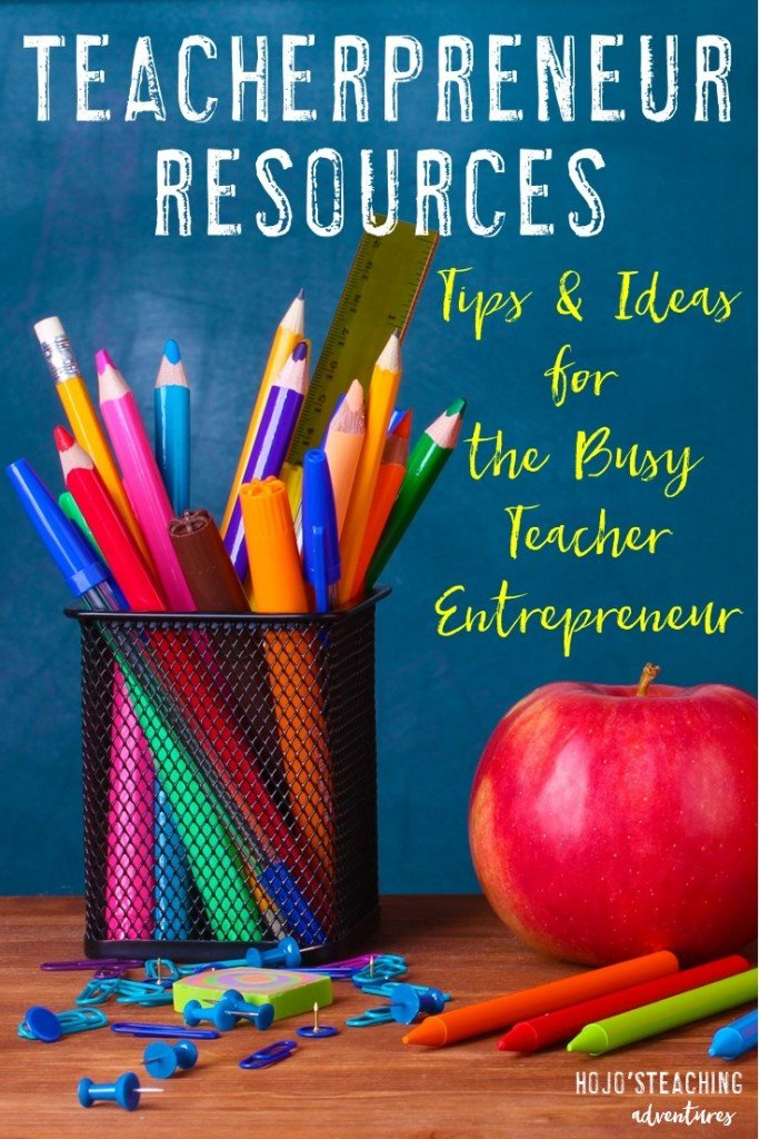 Are you a teacherpreneur? If you sell on Teachers Pay Teachers, blog, or provide educational materials for other educators - yes, you are! This page is designed to help you! It's filled with great teacherpreneur resources to help make your business the very best it can be. Check it out!
