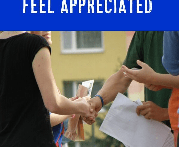 Showing Appreciation for Colleagues & Students