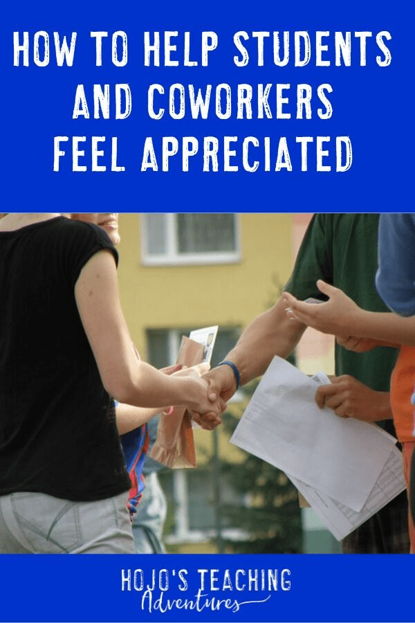 Showing your colleagues how much you care can be EASY! Learn the three steps to give someone a genuine compliment, therefore making their day. We all know the world could use a little more kindness, so why not have it start with you? {Teacher Appreciation, Teacher Gift, Thank you} #HoJoTeaches #ThankATeacher #TeacherAppreciation