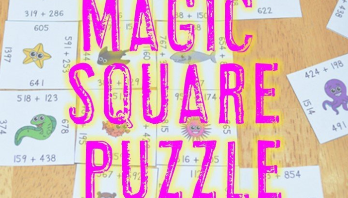 How to Use Magic Square Puzzles!