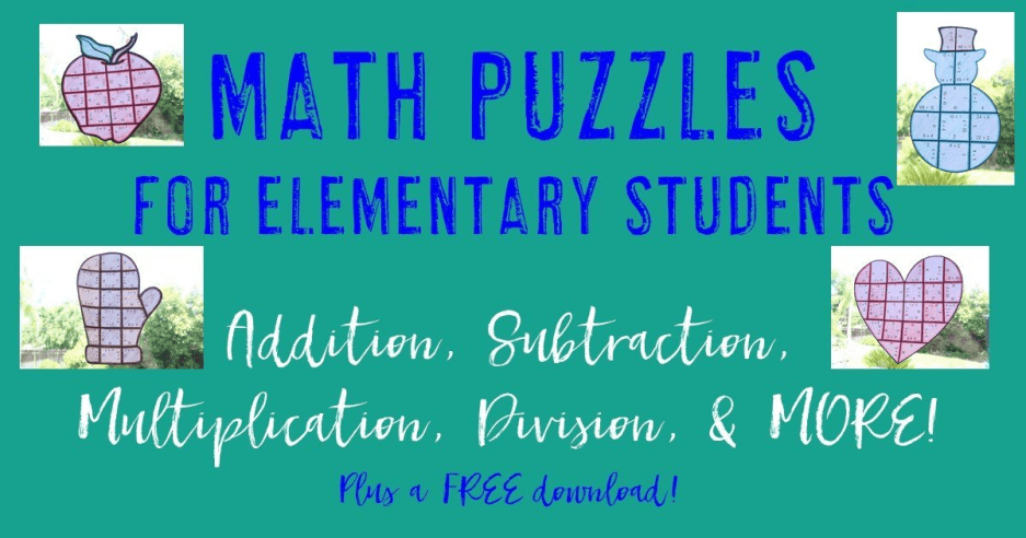 Math Puzzles for Elementary Students