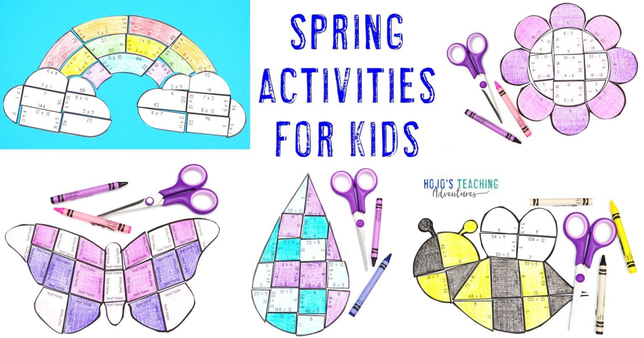 Spring Activities, Books, Bulletin Board Ideas, & More