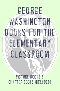 Great book ideas for George Washington.