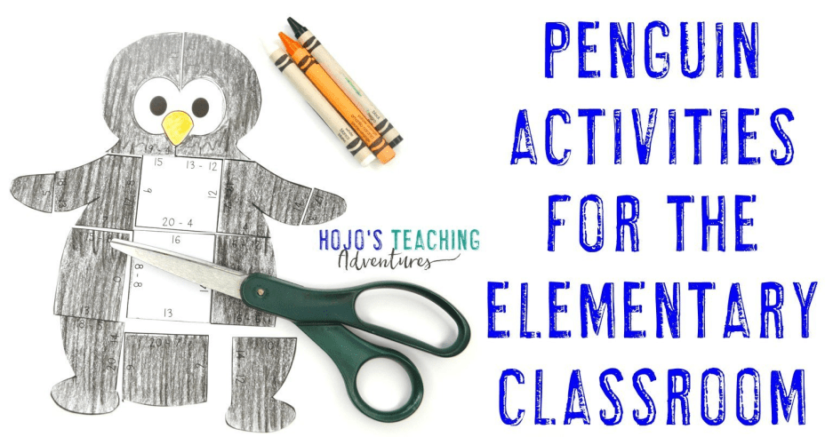 Penguin Activities and Books for Elementary Students