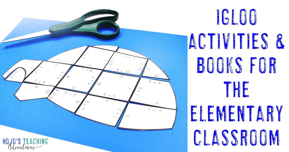 Igloo Activities and Books for Elementary Kids