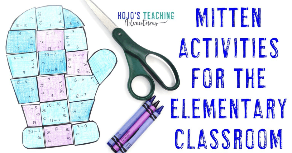 Mitten Activities and Books for Elementary Students