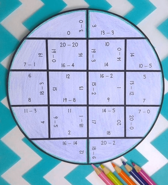 Click this image to get my FREE circle puzzles!