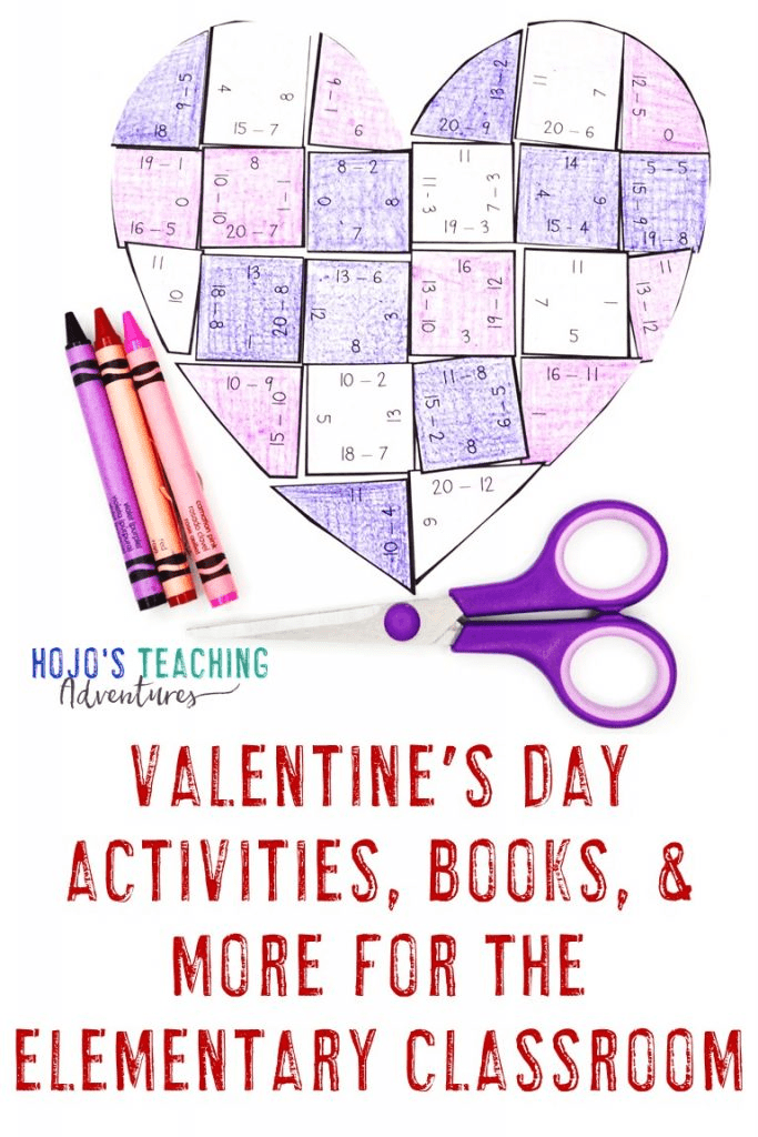 Valentine's Day Actvities, Books, and More for the Elementary Classroom