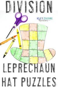 Click here to buy St. Patrick's Day leprechaun activities!