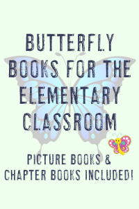 butterfly picture & chapter books