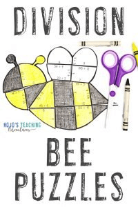 Click to buy Bee division puzzles!