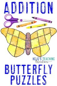 Click here to buy a ADDITION butterfly puzzle!
