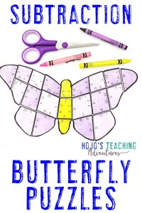 Click here to buy a SUBTRACTION butterfly game!