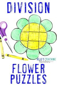 Click here to buy DIVISION flower puzzles!