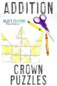 Click to buy your own ADDITION crown math games.