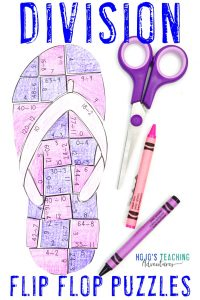 Click to buy your own DIVISION flip flop math games!