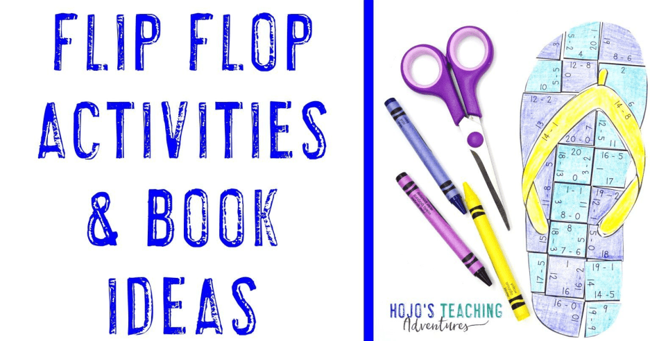 Flip Flop Activities for Kids