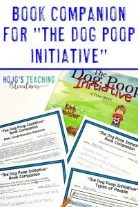 "Click to get a book companion for ""The Dog Poop Initiative"""