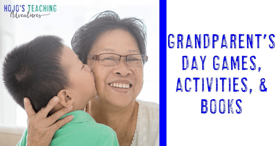Grandparent's Day Activities & Book Ideas for Kids